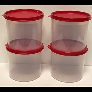 New! Tupperware 2 cup mini canisters